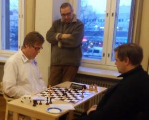 Matti Kauranen viimeistelee neljättä oistettä Vammalassa